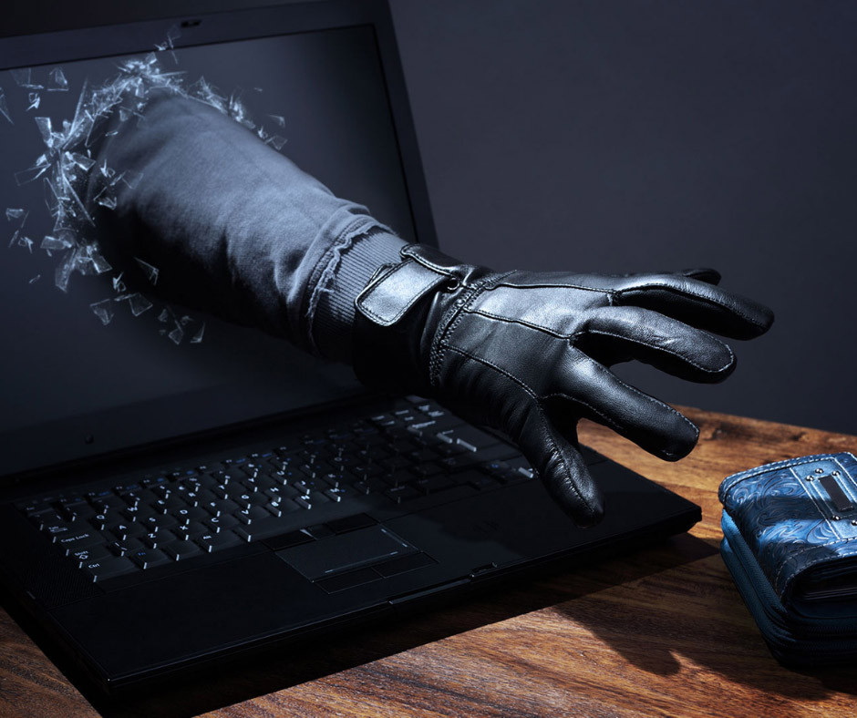 Identity theft computer hacking